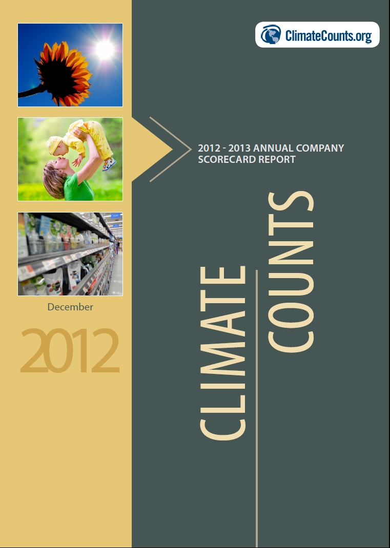 Top Brands Showing Signs of Sustainable Growth – Annual Report Cover Page Template