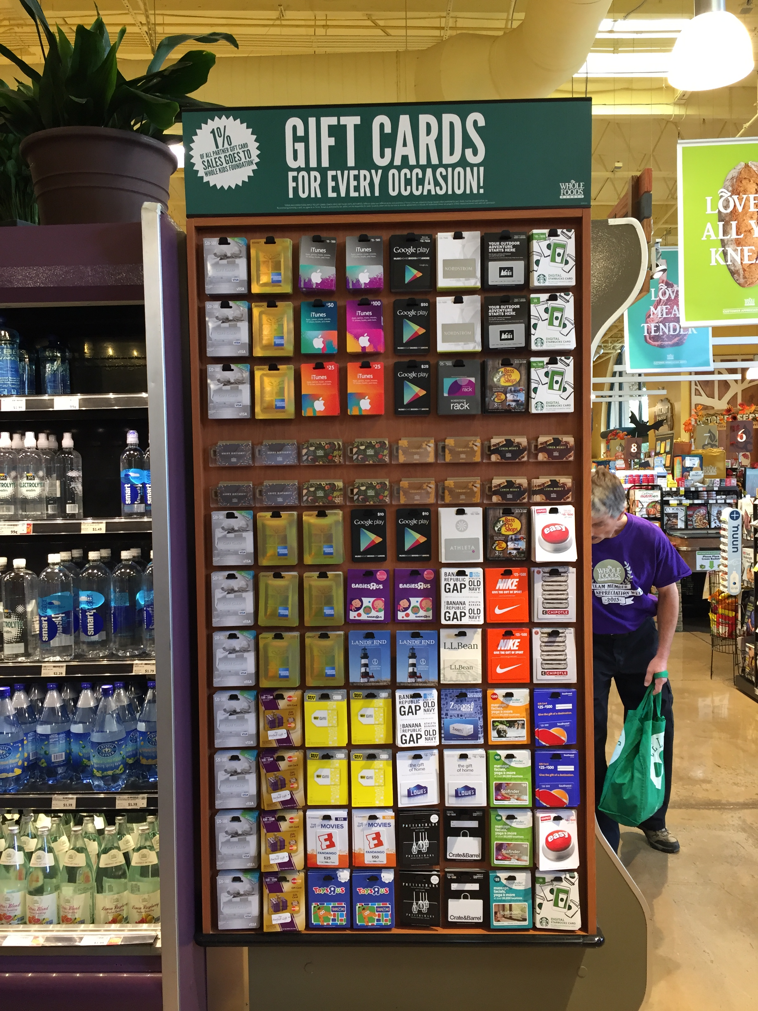 Blackhawk Network Gift Card Sales At Whole Foods Market Generate ...