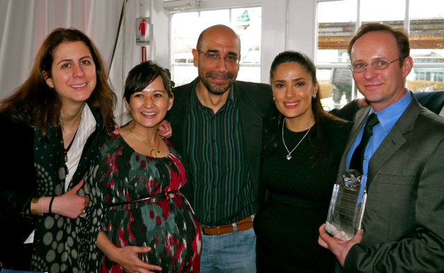 Pci media impact receives avon global communications for Aaron emanuel salon