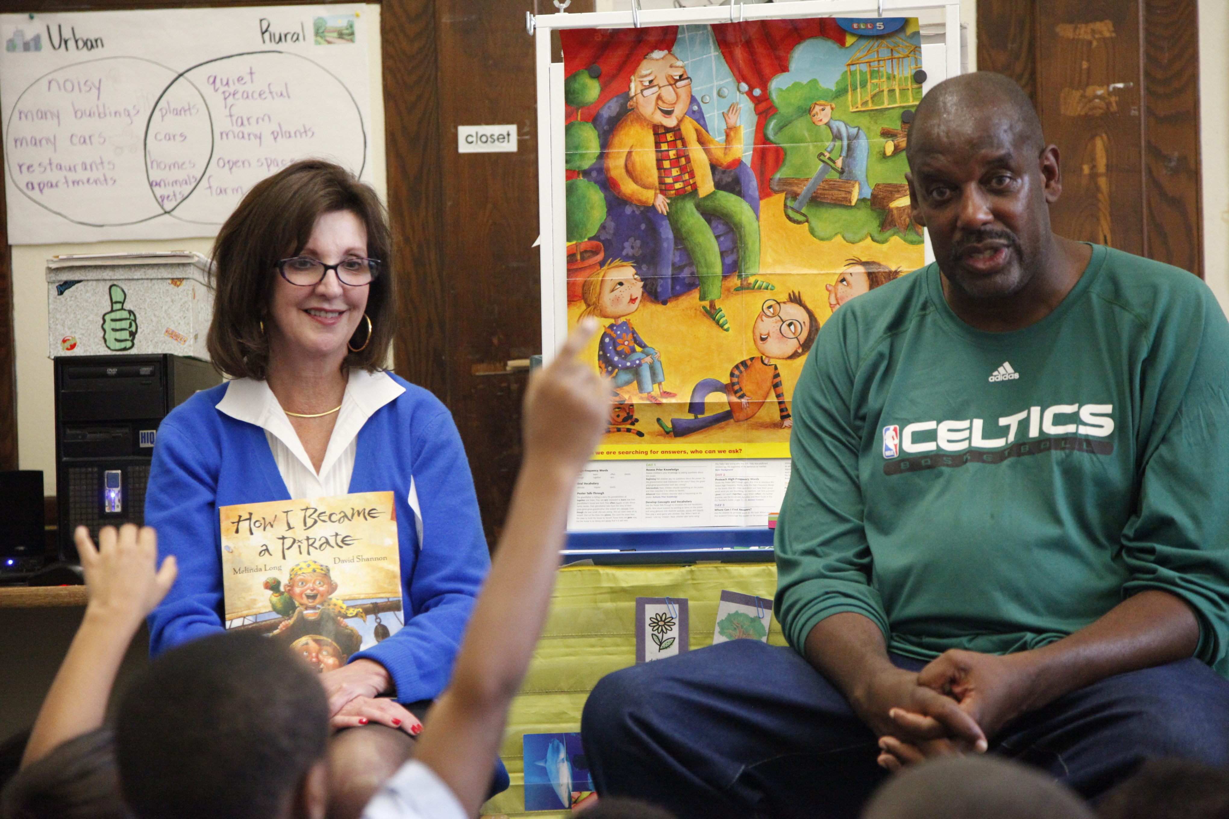 HMH Join Boston Celtics for Day of Volunteerism at Ellis