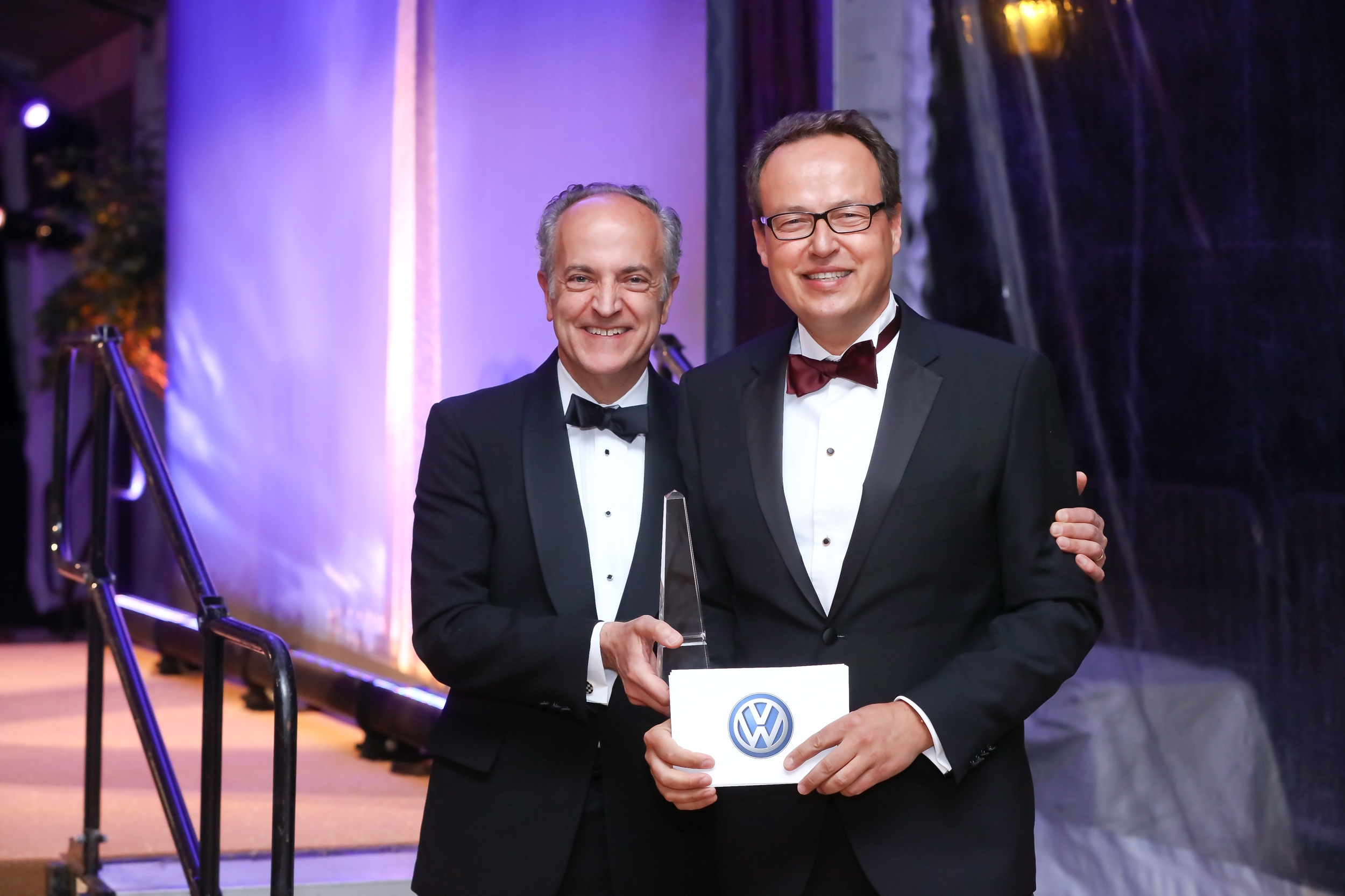 volkswagen of america, inc. recognized for distinction in