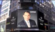 AECOM Lights up Times Square