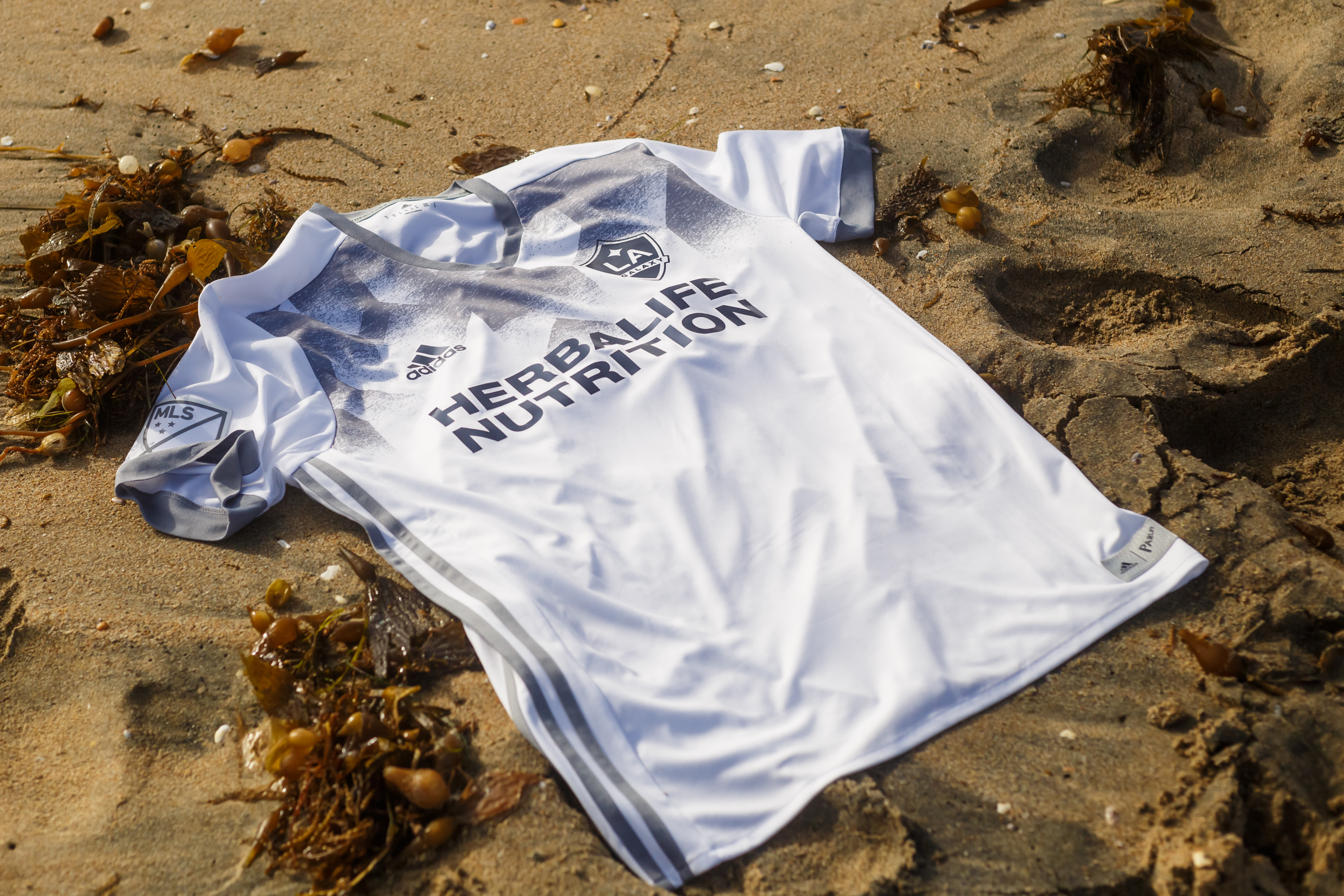45a0f3757 LA Galaxy to debut first MLS Jerseys made from Parley Ocean Plastic™ during  match on April 23 at StubHub Center vs. Seattle Sounders FC as part of  Protect ...