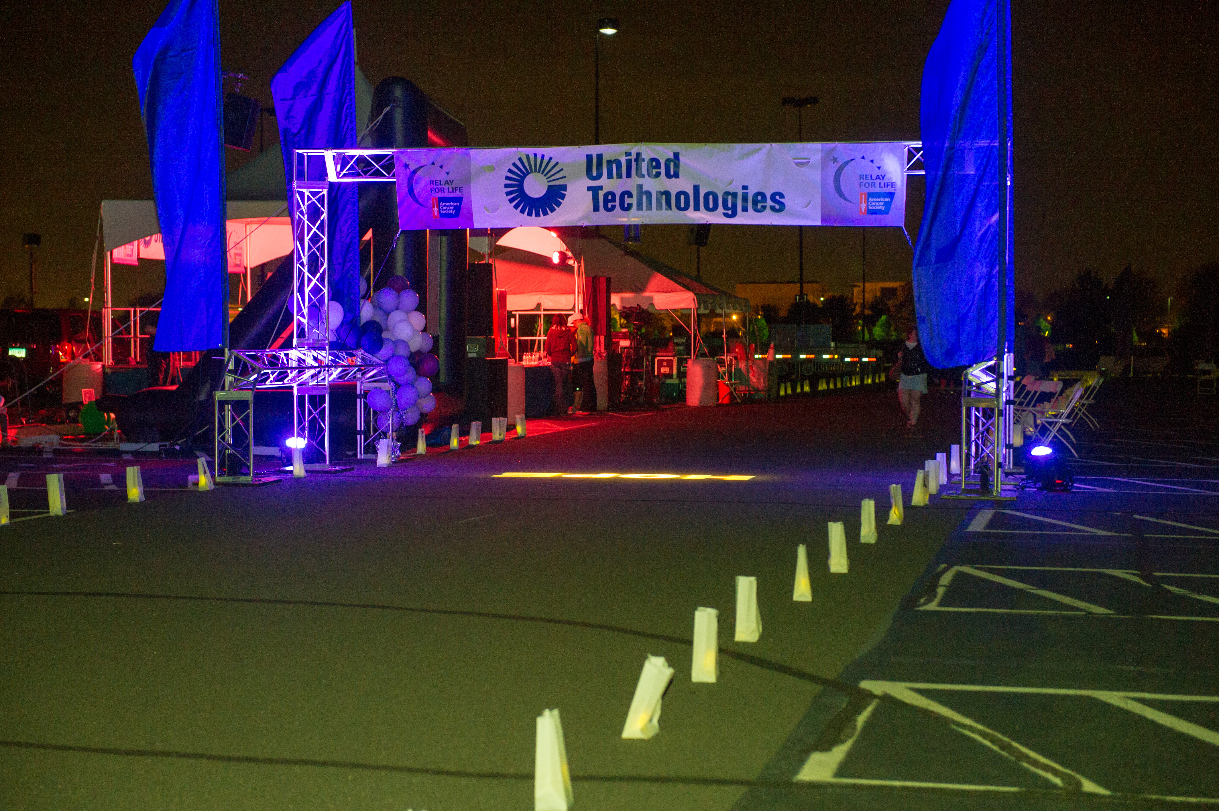 united technologies sponsored relay for life event raises record