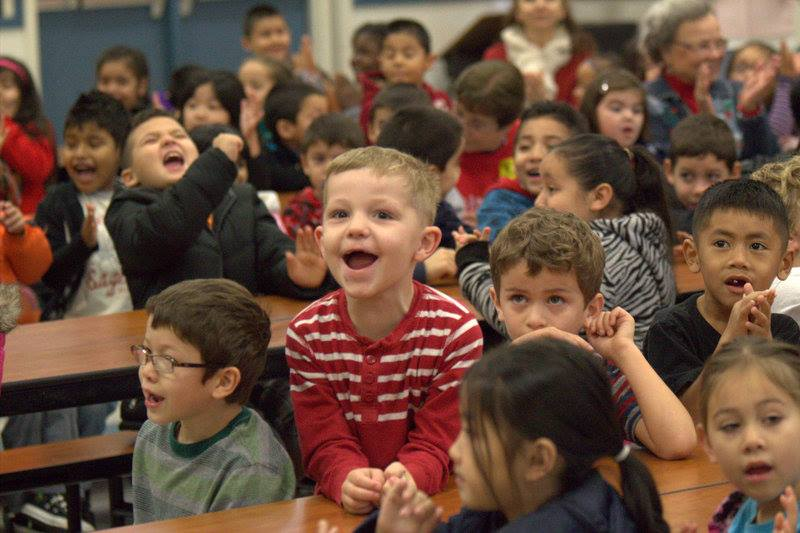 Round Table Pizza Surprises Local Elementary School