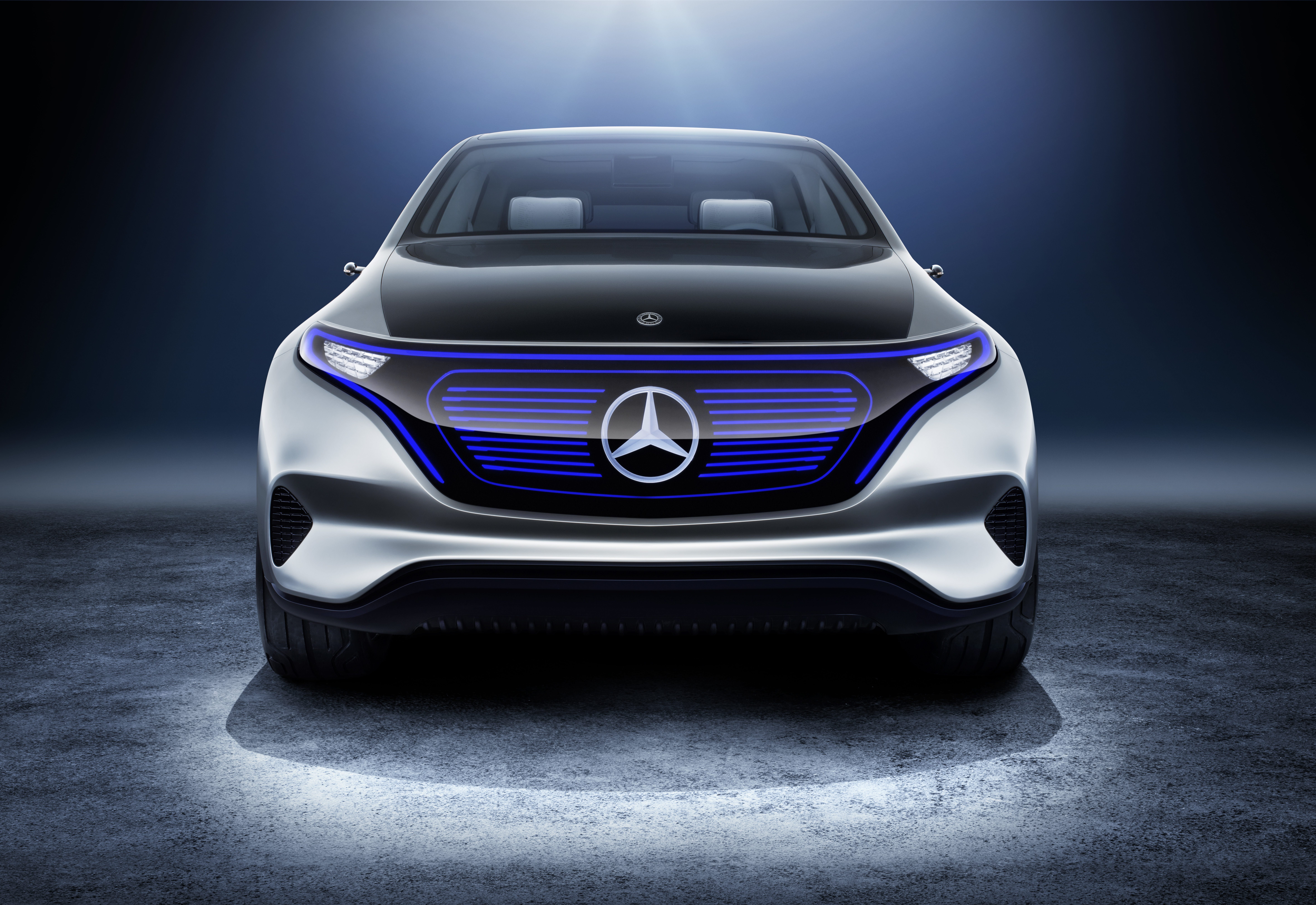 MercedesBenz EQ Show Car Into The Future With Zero Emissions - Show car products