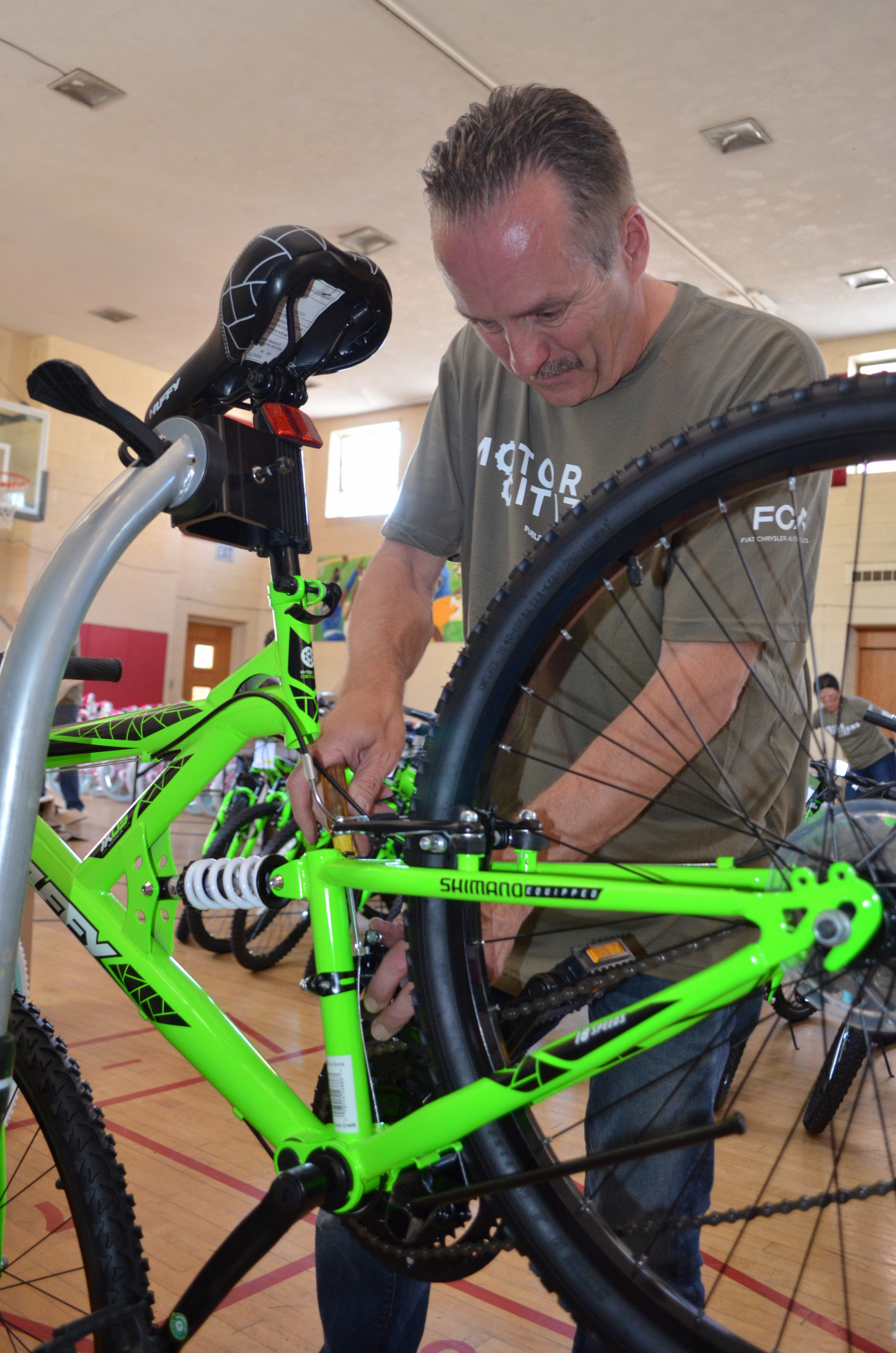 Third Annual FCA US \'Big Bike and Book Giveaway Day\' Rolls Out New ...
