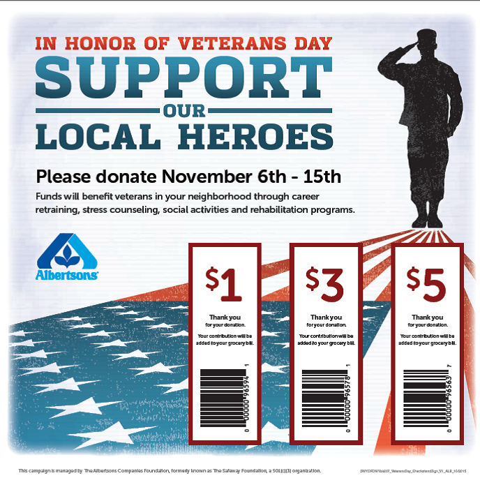 Help Us Support Local Heroes at Your Neighborhood