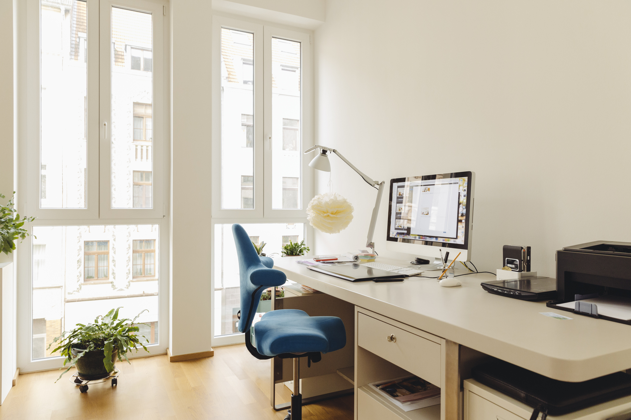 The CBRE Report Found That Adding Plants To The Office Floor Boosted  Engagement In 76 Percent Of Workers Surveyed.