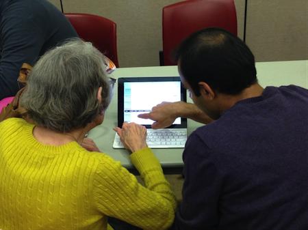 Symantec Volunteers Help Seniors Go Techy