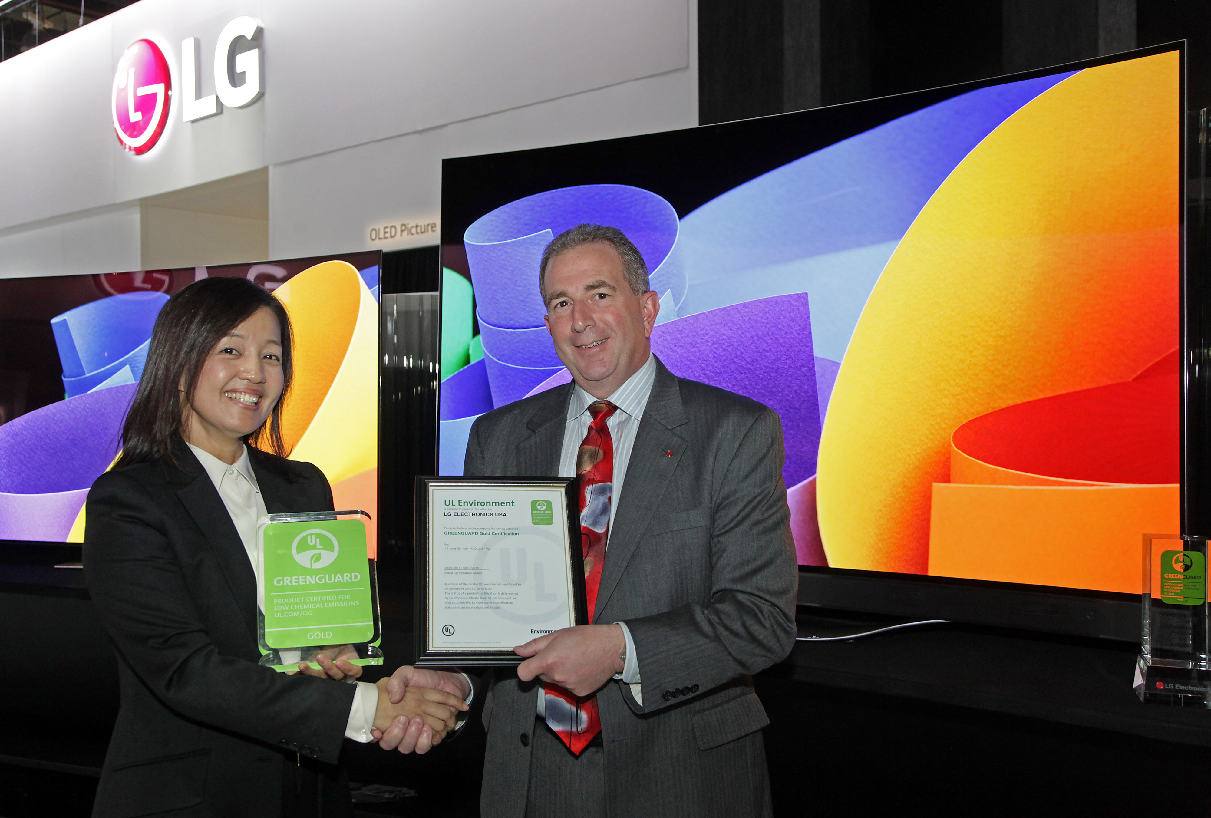 UL Environment and LG Electronics Expand