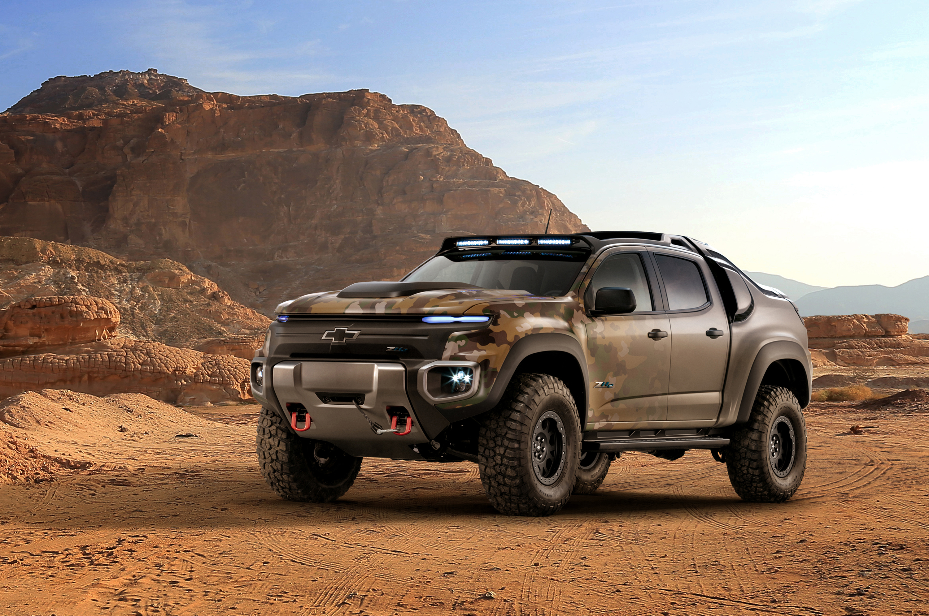 Mission ready chevrolet colorado zh2 fuel cell vehicle for General motors near me