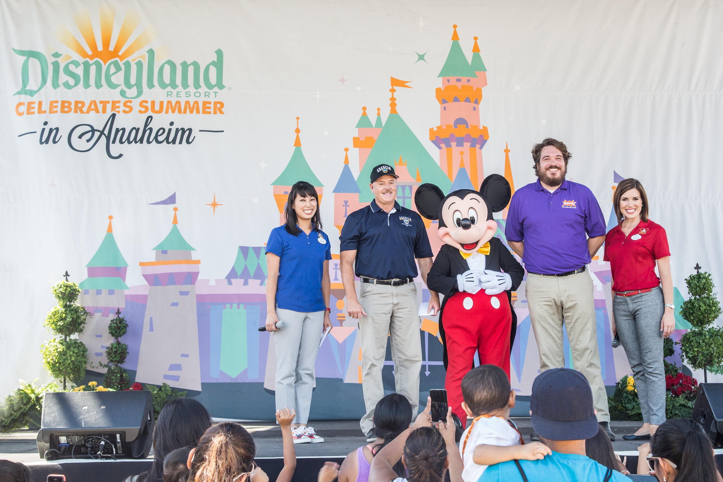 Disneyland Resort City Of Anaheim And KABOOM To Build Five New - What city is disneyland in
