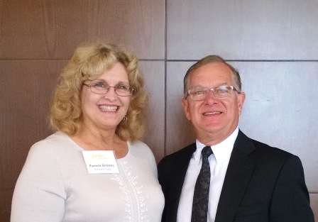 Kimberly Clark Safety Leader, Pam Dickens, With Secretary Of The Kentucky  Labor Cabinet, Larry Roberts, Who Also Served As President For The NAGLO  Executive ...