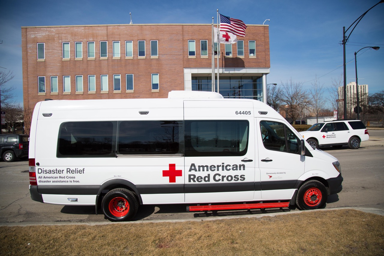 American Red Cross Receives New Emergency Response Vehicle Donation