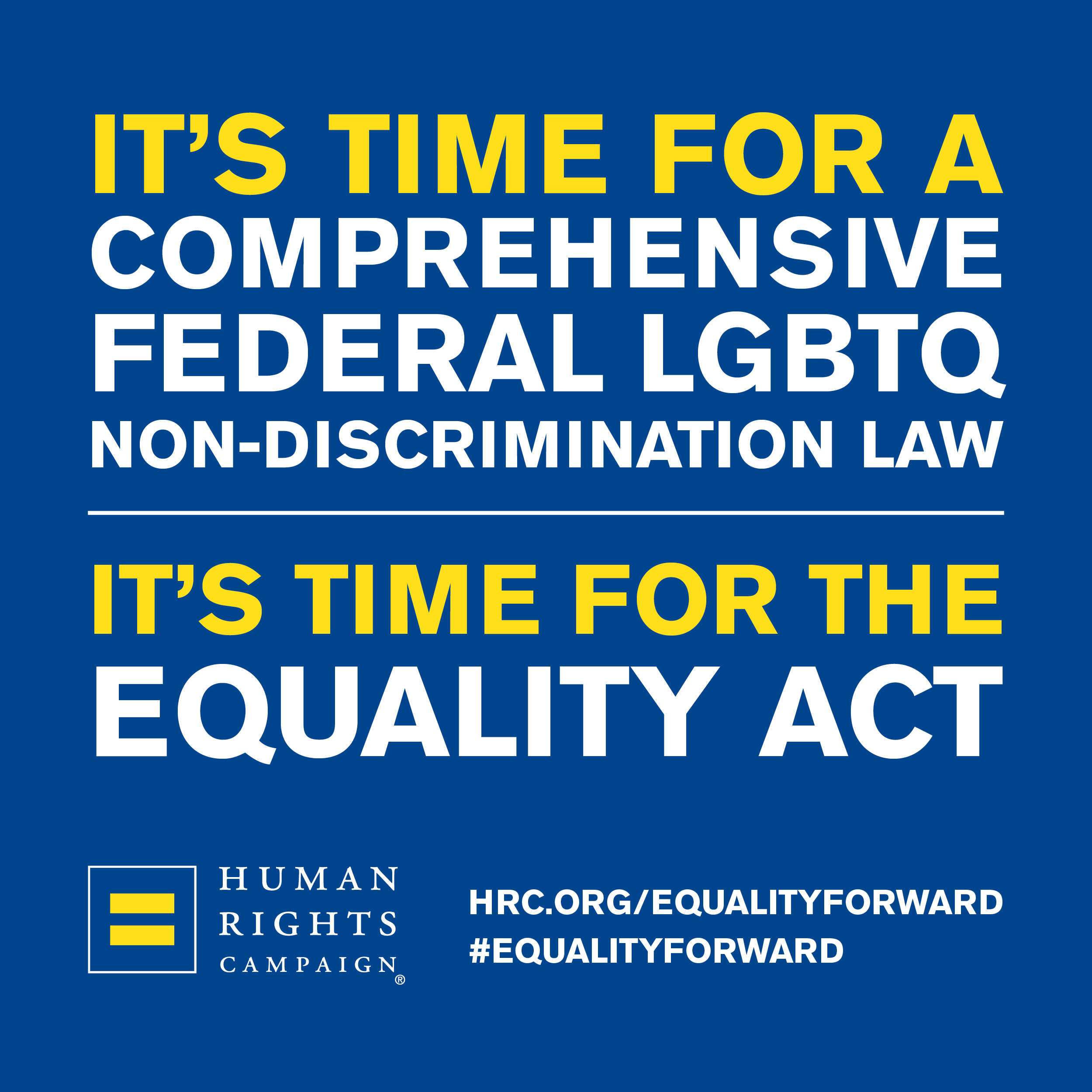 HP Supports the Equality Act