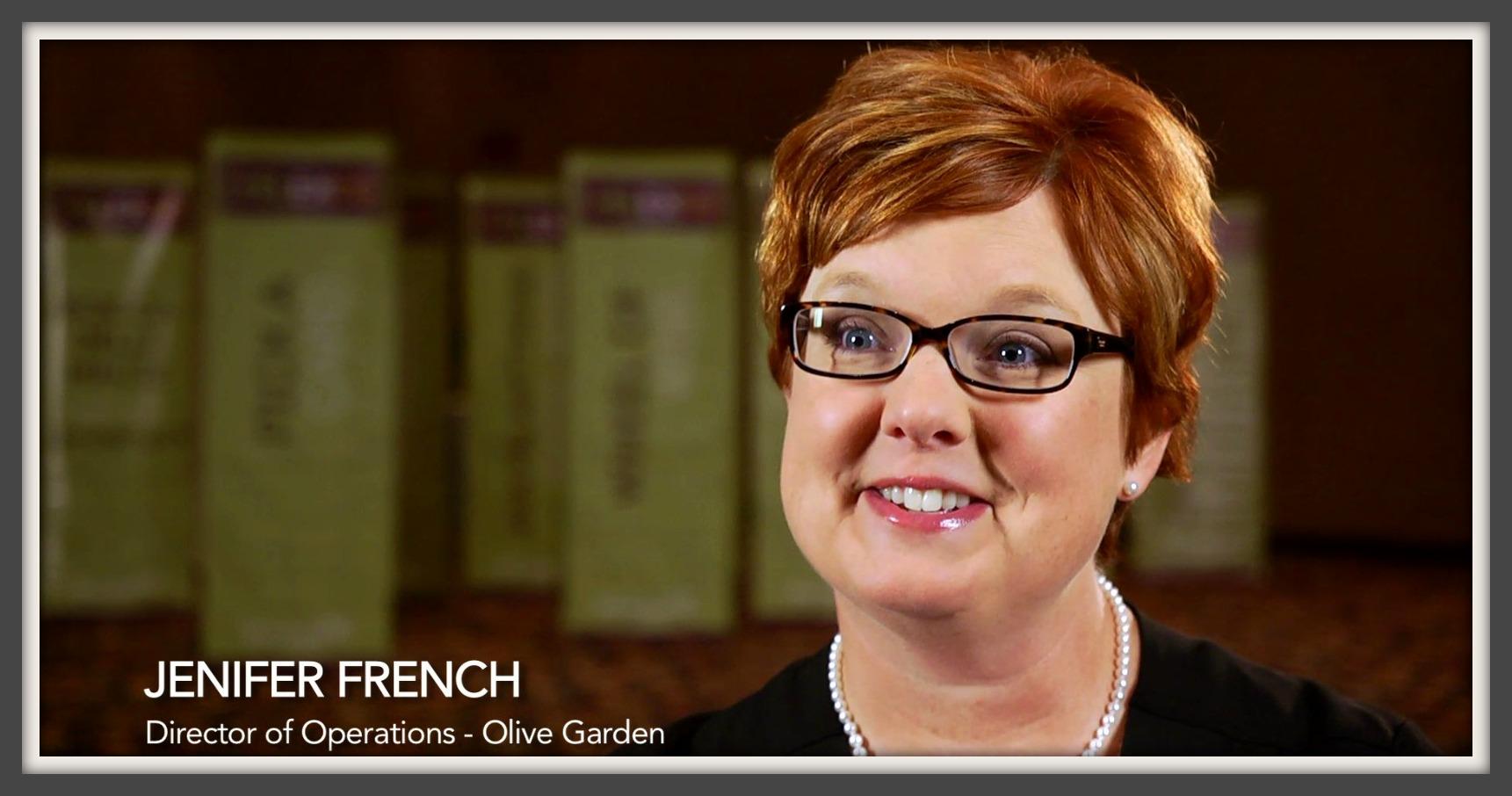 faces of olive garden jenifer french 3bl media - Olive Garden Tyler Tx