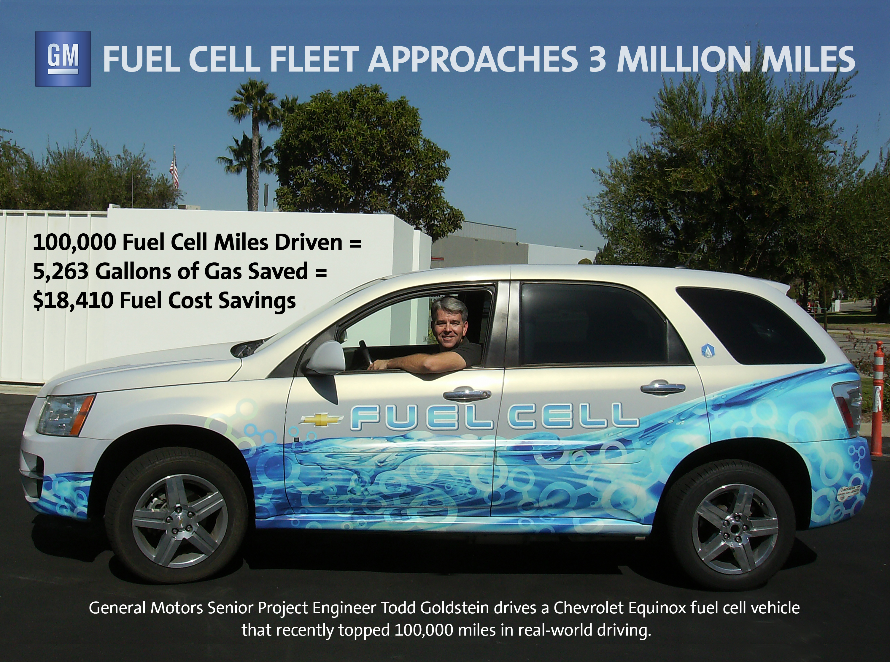 fuel cell equinox tops 100 000 miles in real world driving 3bl media. Black Bedroom Furniture Sets. Home Design Ideas