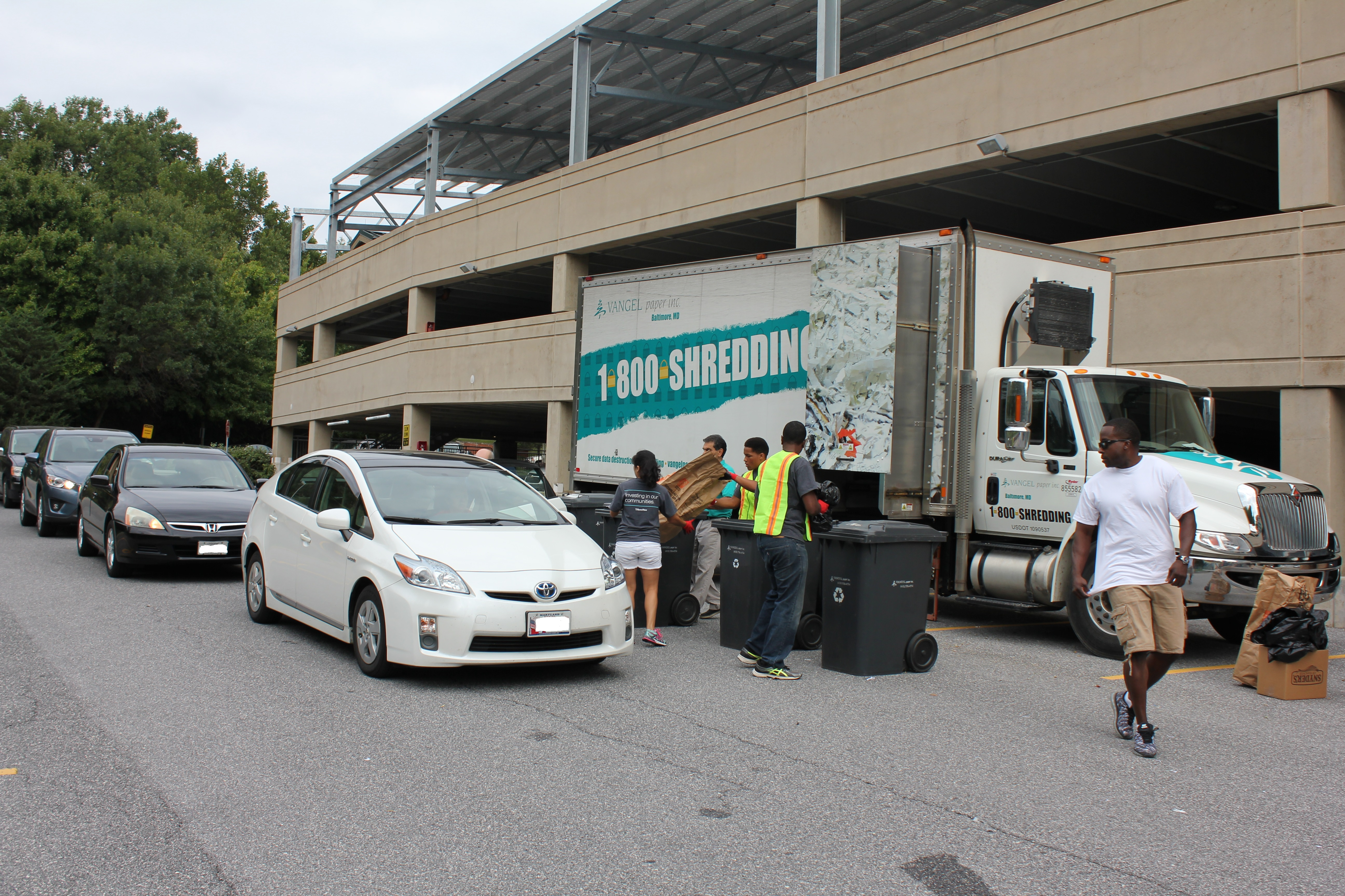 T  Rowe Price Hosted First-Ever Community Shred Event | 3BL