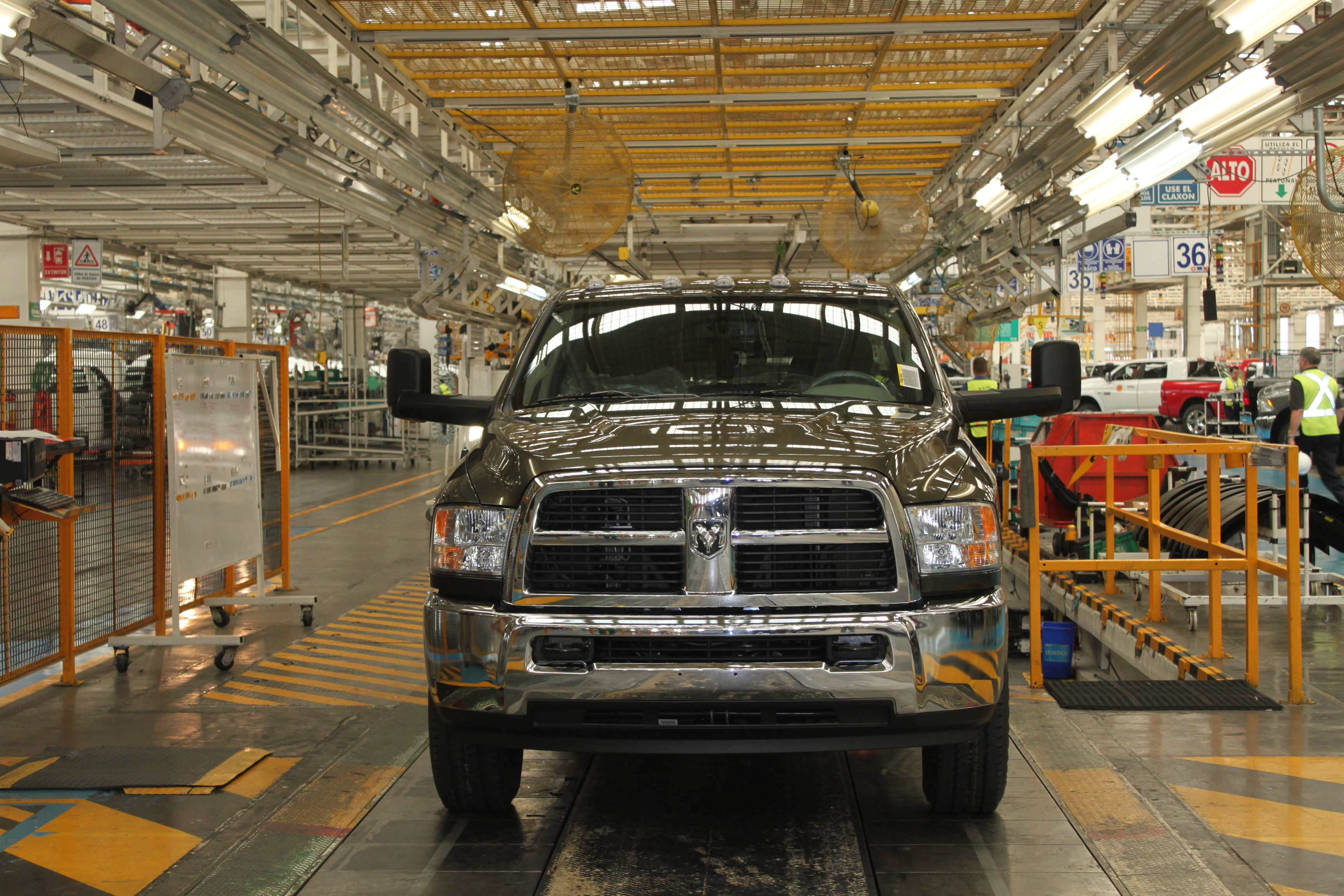 Production Begins for Ram 2500 Compressed Natural Gas