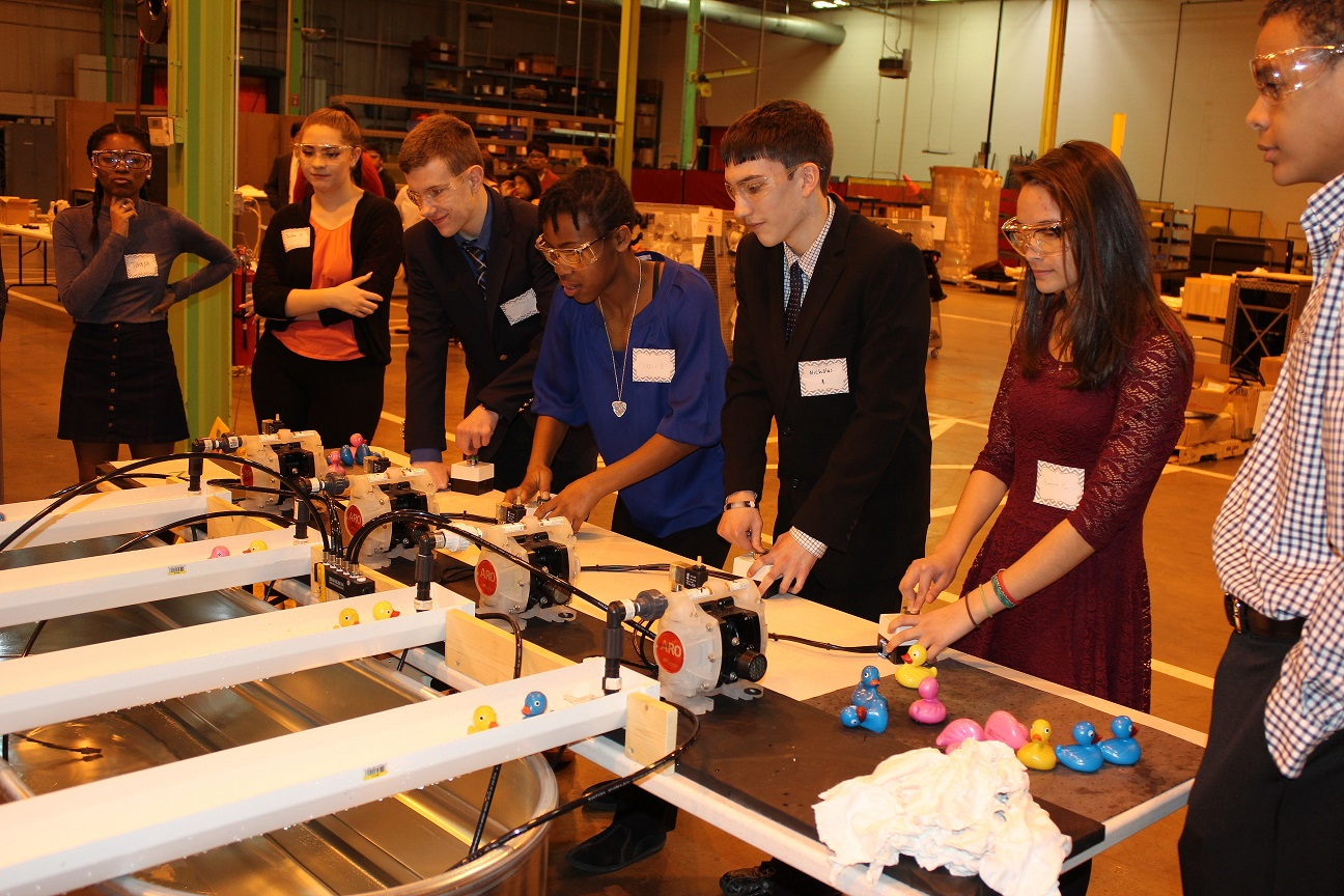Ingersoll Rand Hosts Charlotte Engineering Early College ...