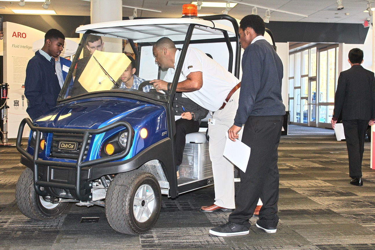 Ingersoll Rand Hosts Charlotte Engineering Early College... on ingersoll rand davidson contact, ingersoll rand davidson nc, ingersoll rand davidson address,