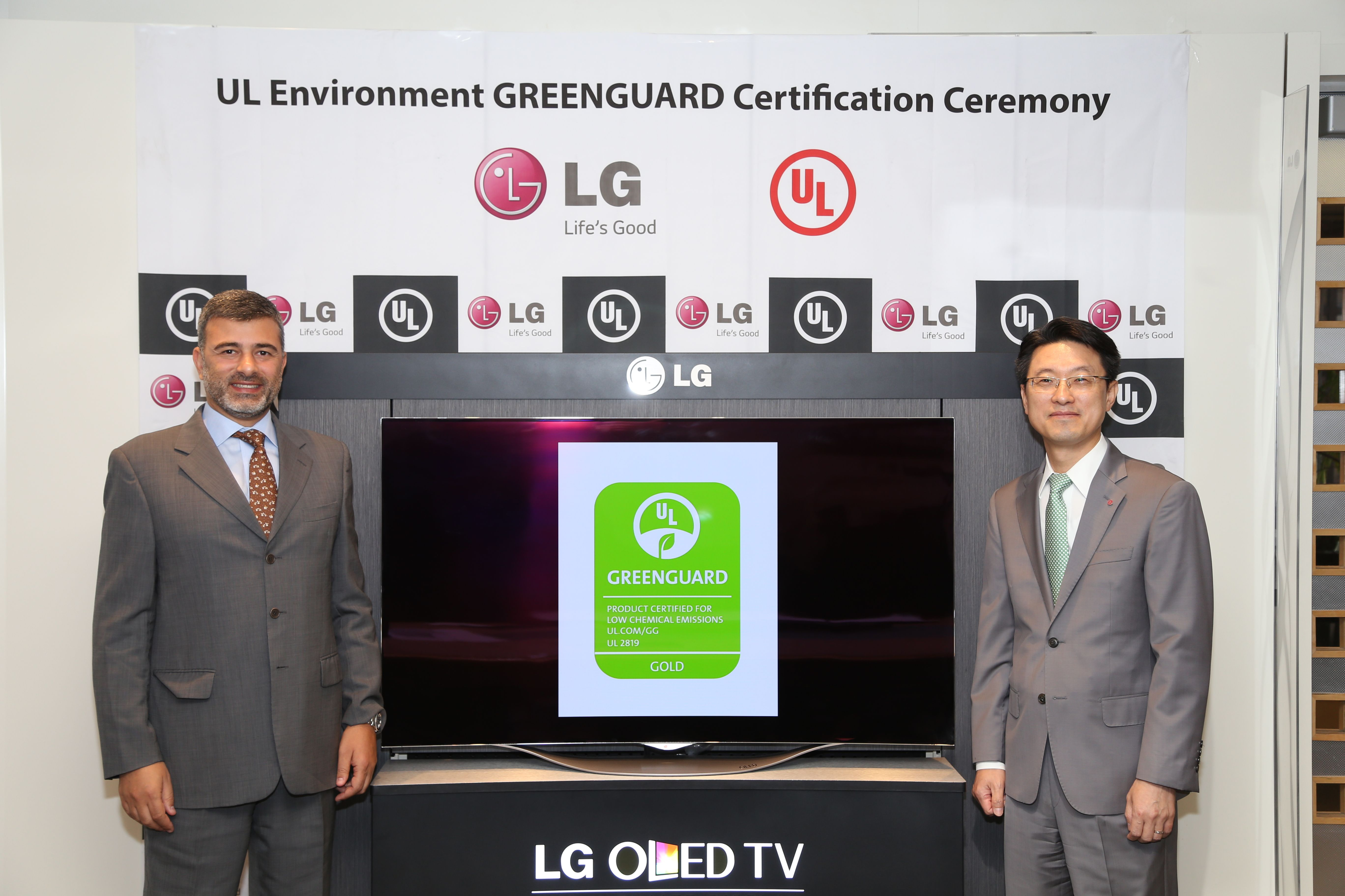 Lg Electronics Ul Environment Announce First Greenguard Certified