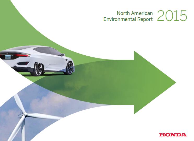 Honda North America >> Honda Reports On Its Environmental Performance In North