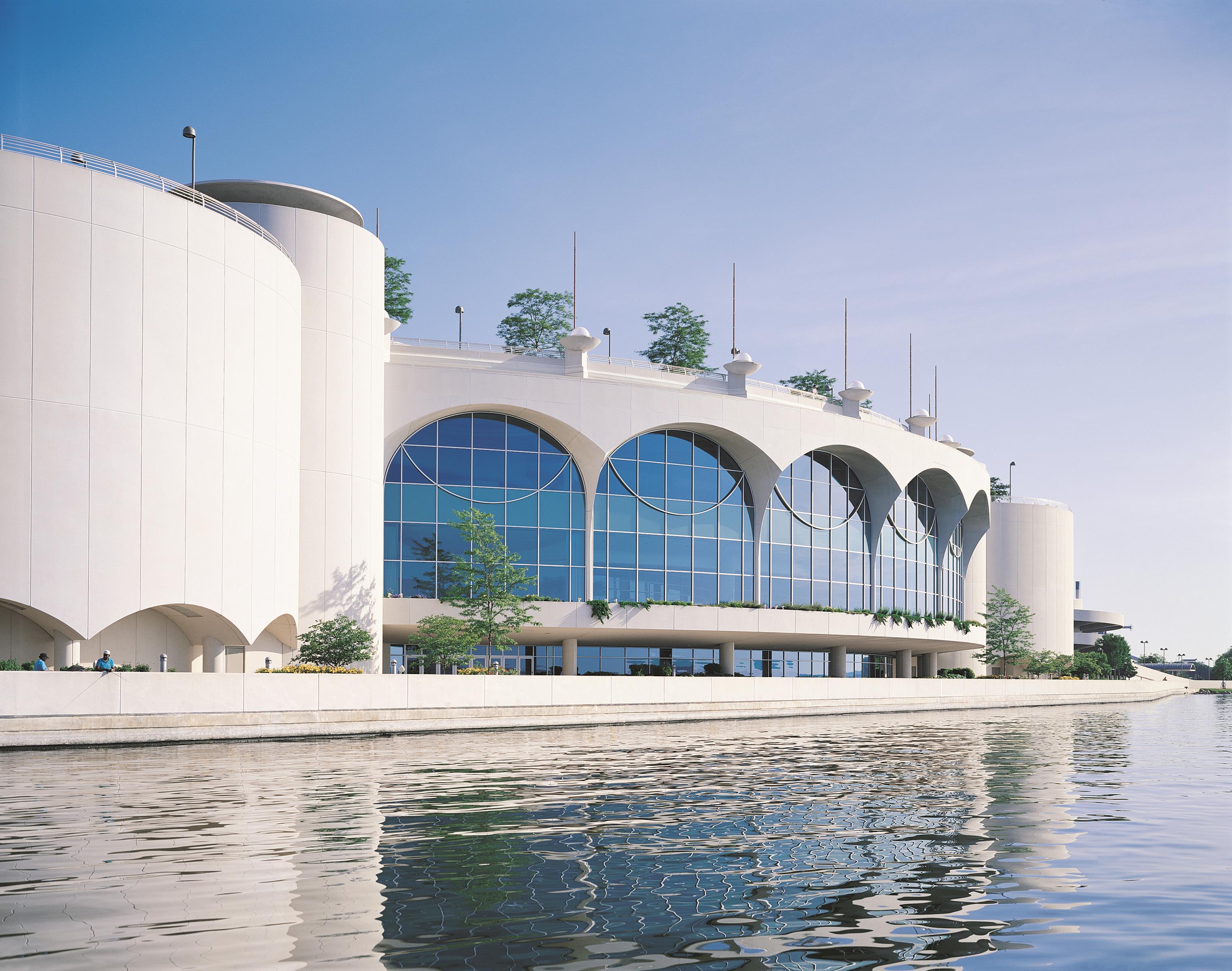 Frank Lloyd Wrights Monona Terrace >> Frank Lloyd Wright Designed Monona Terrace Convention Center Awarded