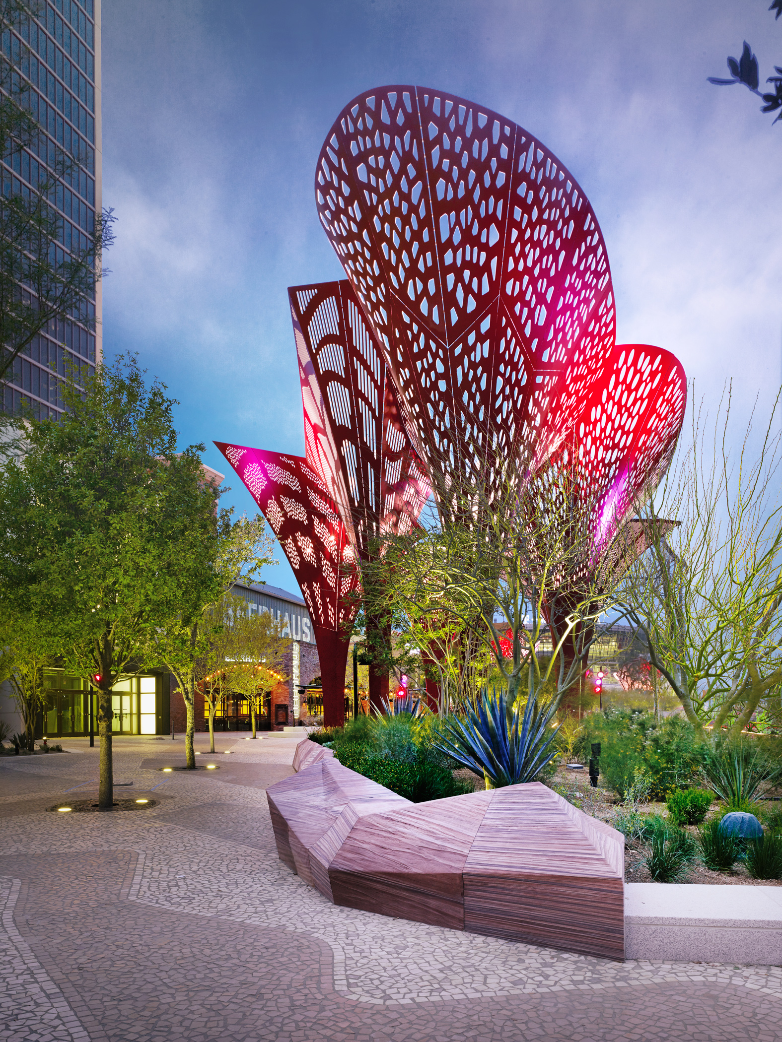 Restaurant Corridor At The Park Earns Leed Certification From The