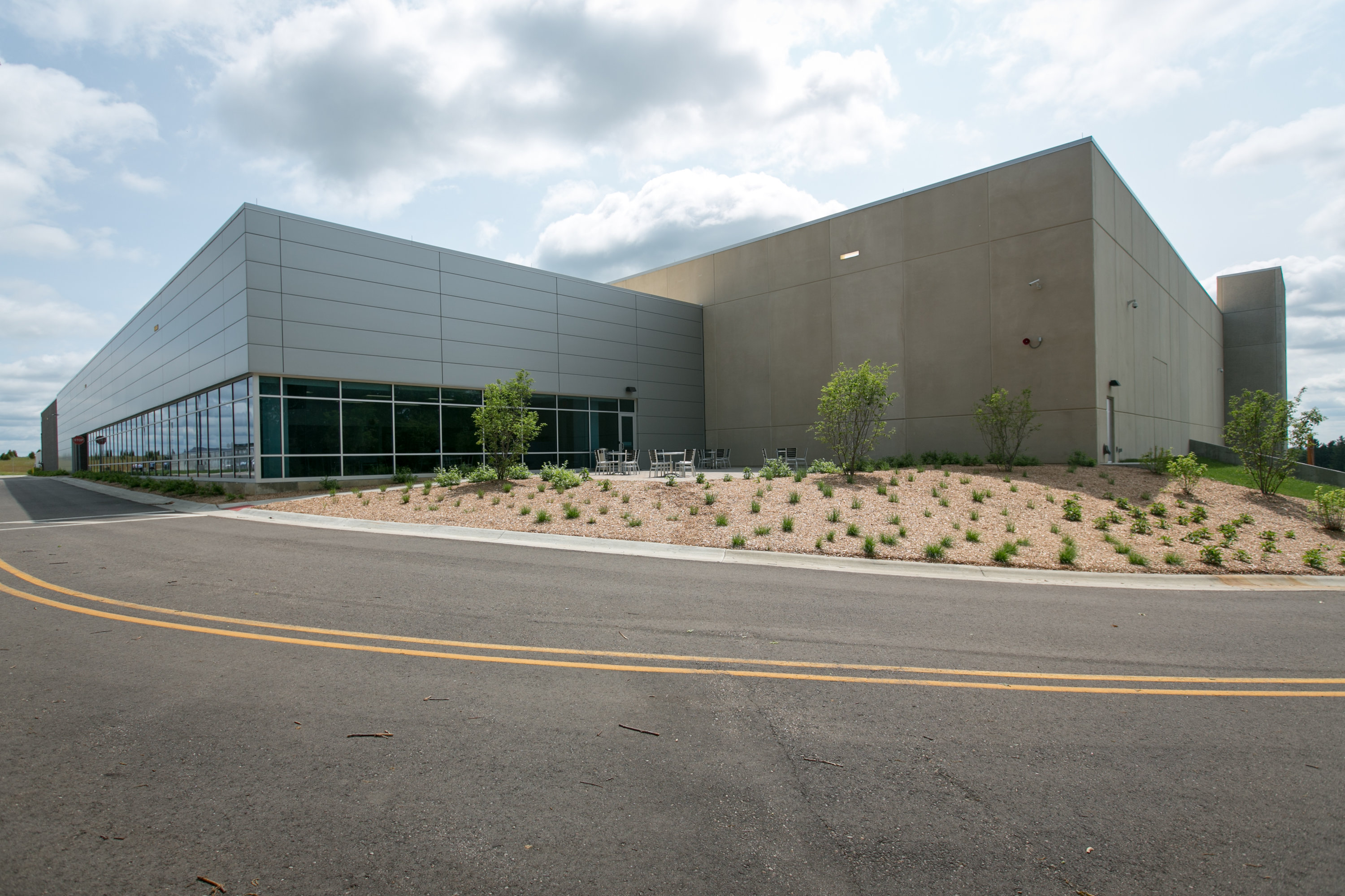 Powered by the Sun Wind and EV Batteries GM Wins LEED Gold