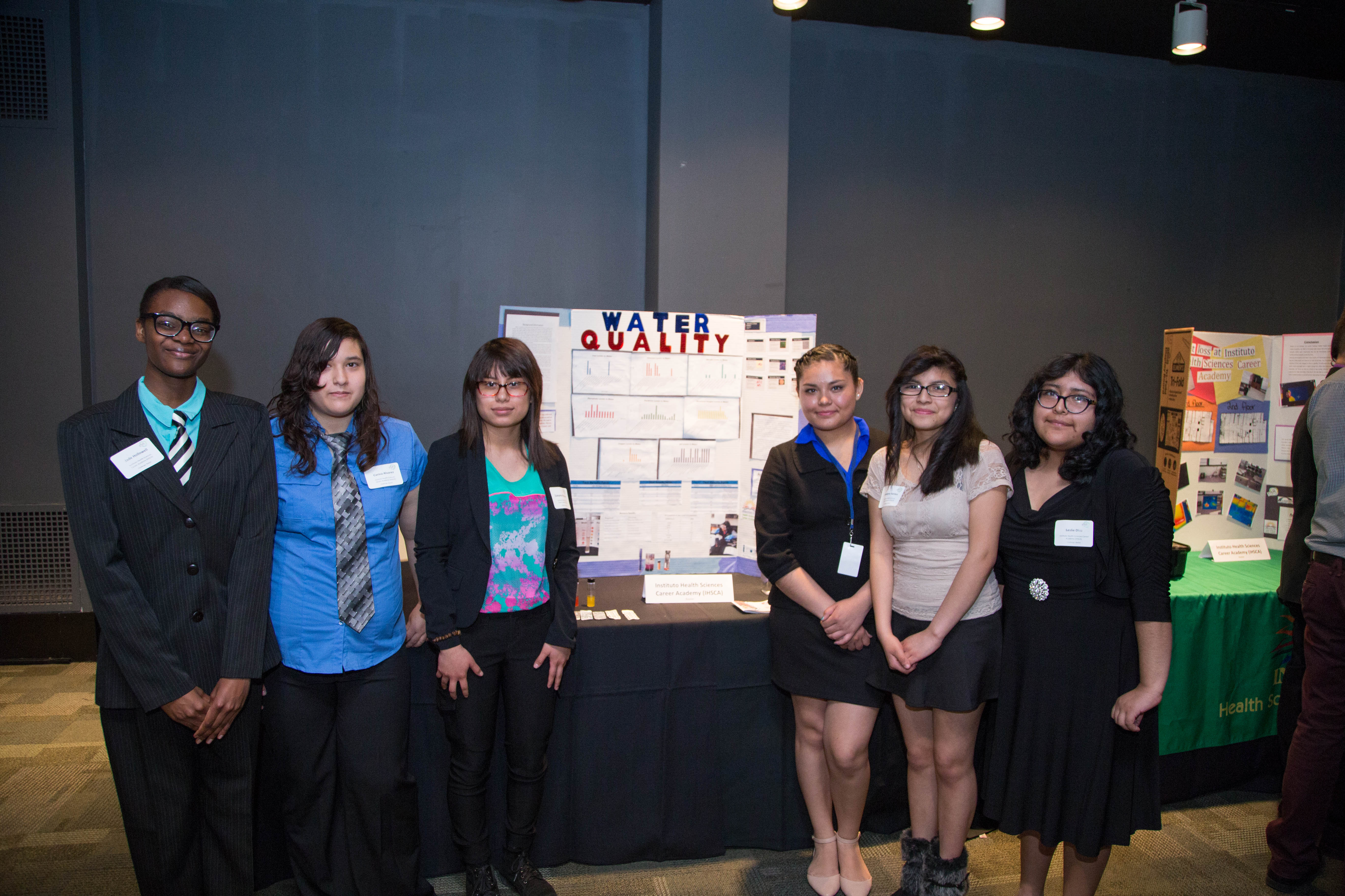 High School Students Address Real-World STEM Problems in...