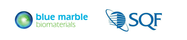 Blue Marble Biomaterials Receives Safe Quality Food Level 2