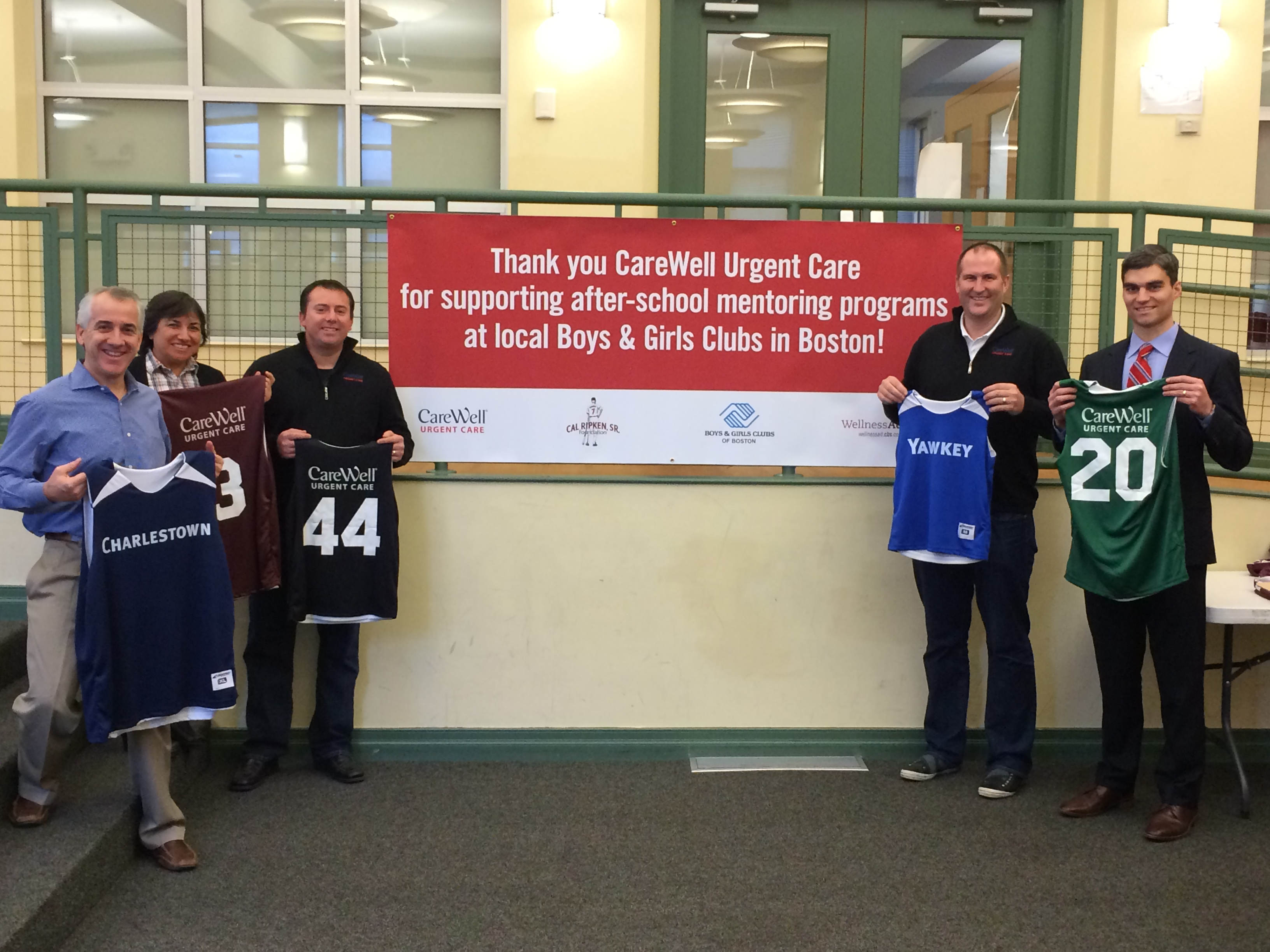 Carewell Urgent Care Supports Youth Sports while