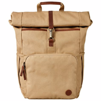 Walnut Hill 24L Water-Resistant Roll-Top Backpack – This rugged pack has  old-school flair with a new-age eco-conscious design. 3a3ebc582f161