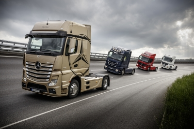 Iaa Preview Mercedes Benz Trucks 3bl Media