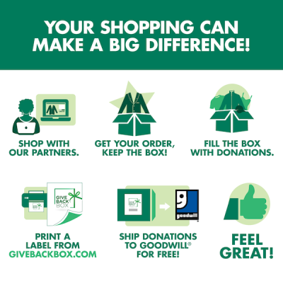 Goodwill®, Partners Urge People to Donate Using the