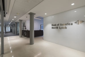 Bank Of America Merrill Lynch Awarded First Leed Ci