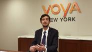 2017 Voya Scholars Winner Klajdi Qoku